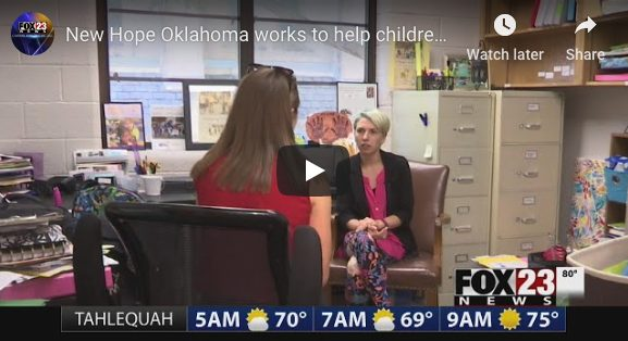 New Hope Oklahoma works to help children of incarcerated parents